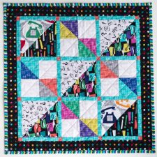 Mini quilt, a new quilt pattern by Kate Colleran