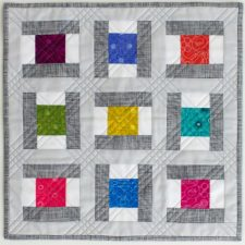 Saybrook Signals Mini, quilt pattern by Kate Colleran