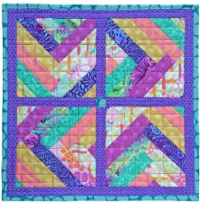 Two Step Mini, quilt pattern by Kate Colleran