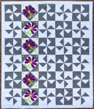 Petals and Posies. quilt pattern by Kate Colleran