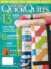 I've Got A Notion in McCall's Quick Quilts