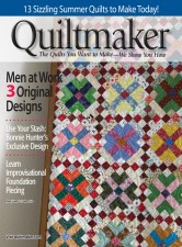 Spring Mosaic in Quiltmaker Magazine