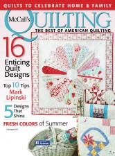 Basket Sampler in McCall's Quilting magazine