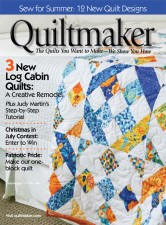 Contours in Quiltmaker Magazine