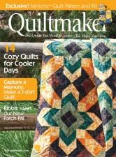 Blue Bayou in Quiltmaker Magazine
