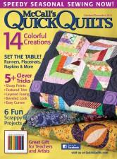 Oct Nov McCalls Quick Quilts
