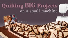 Quilting Big Projects on a Small Machine with Ann Petersen