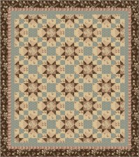 Southern Stars, a quilt pattern by Kate Colleran