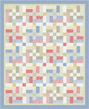 Urban Color, a quilt pattern by Kate Colleran