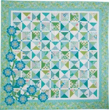 Fields of Blue - designed by Kate Colleran for McCall's Quilting