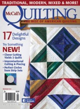 Kate Colleran in McCall's Quilting