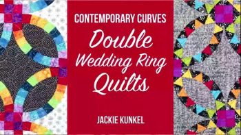 Contemporary Curves - Double Wedding Ring Quilts