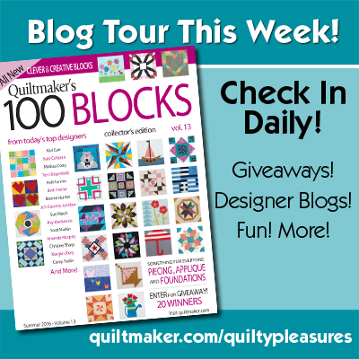 100 blocks vol 13 blog tour