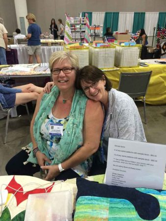 Me and Annette of Southward Designs