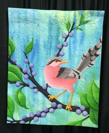 Pink Bird by Judy Coates Perez