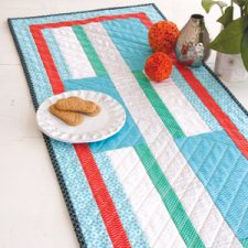 Beanstalk, a table runner by Kate Colleran