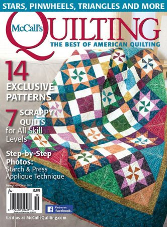 McCall's Quilting Sept/Oct 2016