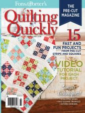 Quilting Quickly MayJune16