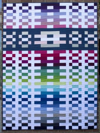 Lighthouse Steps - quilt designed by Kate Colleran