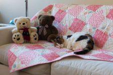 Quarter Turn crib quilt pattern by Kate Colleran