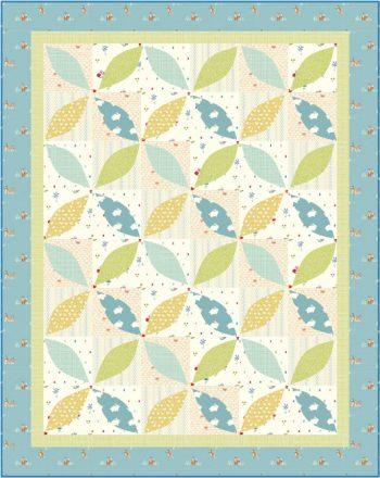Little Leaves - a Farm Fresh quilt series pattern by Kate Colleran and Alyssa DesRosier