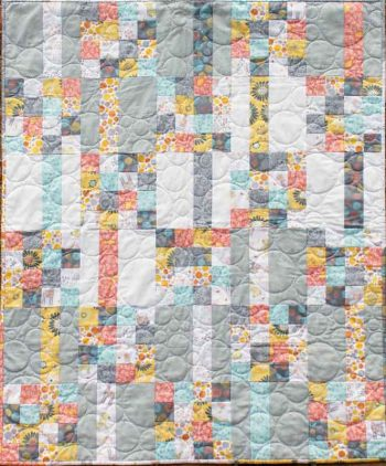 Meander Baby Quilt by Kate Colleran