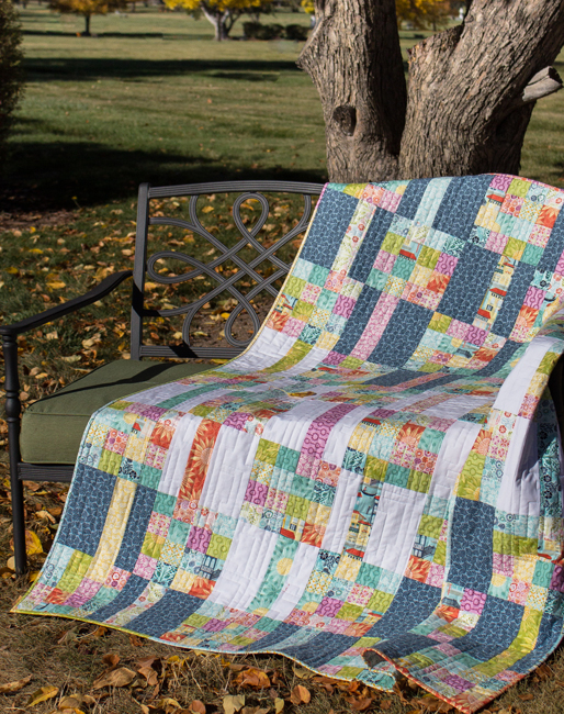 Meander - a quilt pattern by Kate Colleran
