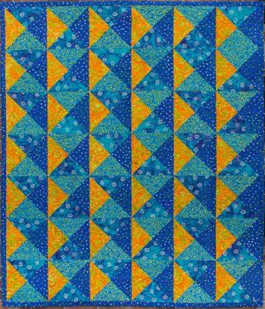 Quarter Turn quilt pattern by Kate Colleran