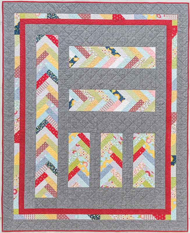 braid quilt from the book Smash Your Precut Stash