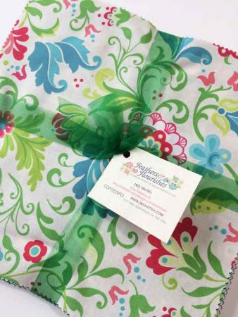 "Feathers and Flourishes 10"" square pack"