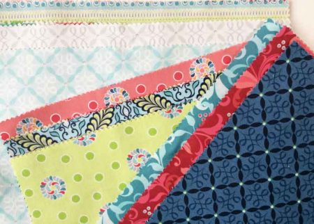 Wonky 9 Patch Tutorial featured by top US quilting blog and shop, Seams Like a Dream Quilt Designs: separated into light, medium and dark