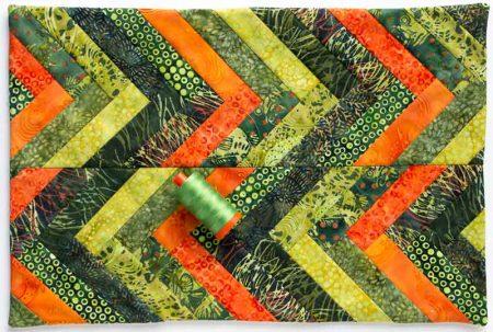 kennel quilt, batik