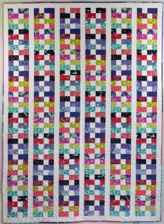 Boston Bricks, a new quilt pattern by Kate Colleran