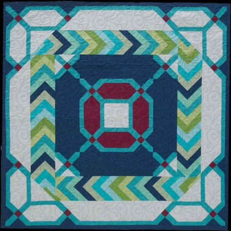 Braid template quilt
