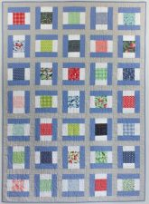 Saybrook Signals, a new quilt pattern by Kate Colleran