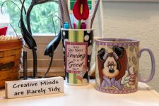 Creative Spaces Blog Hop- Week 1: A creative mind is rarely tidy!