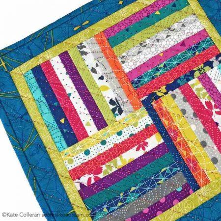 Bonus quilt using leftover strips