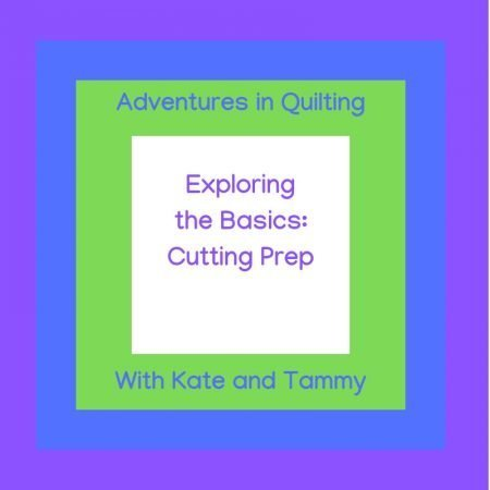 Exploring Quilting Basics: 4 Fabric Cutting Prep Tips featured by top US sewing and quilting blog, Seams Like a Dream