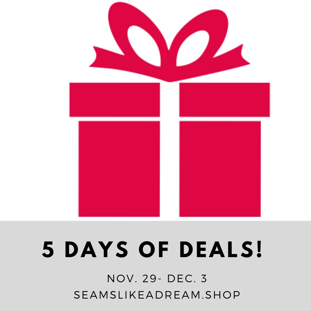 #amakeragiftguide: 5 Days of the Best Sewing Sales featured by top US quilting blog and shop Seams Like a Dream Quilt Designs has a great quilting sale!