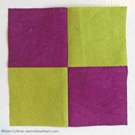 Bonus Quilt Pressing Tip: the Rotate Pressing Technique featured by top US quilting blog, Seams Like a Dream Quilt Designs, shows you a fun pressing technique to swirl the seams.