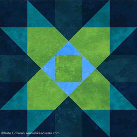 Luminous Quilt Along Project: Block 3 featured by top US quilting blog and shop, Seams Like a Dream Quilt Designs.