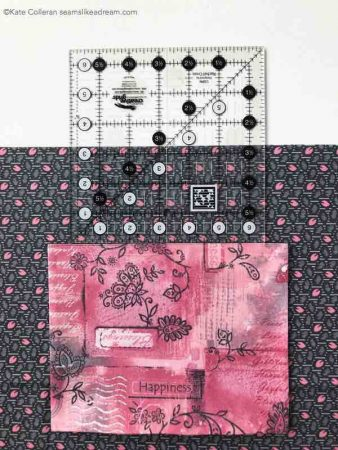 How to Add a Pocket to a Tote Bag, a sewing tutorial featured by top US quilting and sewing blog, Seams Like a Dream Quilt Designs.