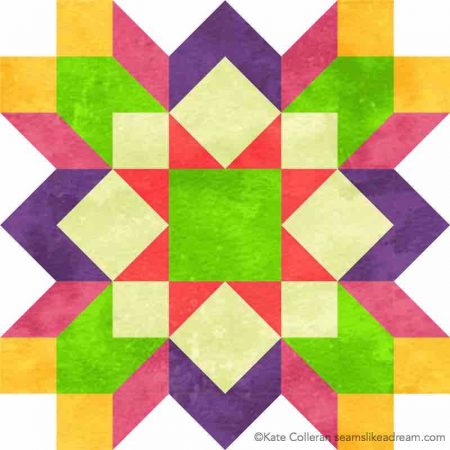 Luminous Quilt Along Project: Block 5, featured by top US quilting blog and shop, Seams Like a Dream Quilt Designs