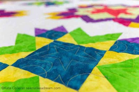 Luminous Quilt Along Project: Block 4, featured by top US quilting blog and shop, Seams Like a Dream Quilt Designs, reveals Block 4 of the Adventure in Color Quilt Along.