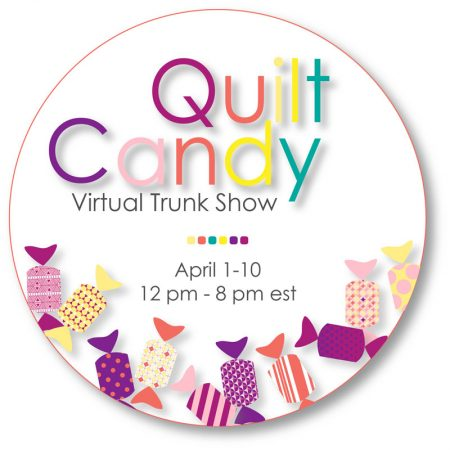Luminous Quilt Along Project: Block 5, featured by top quilting blog, Seams Like a Dream Quilt Designs, reveals the schedule for the Quilter's Candy Virtual Trunk Show.