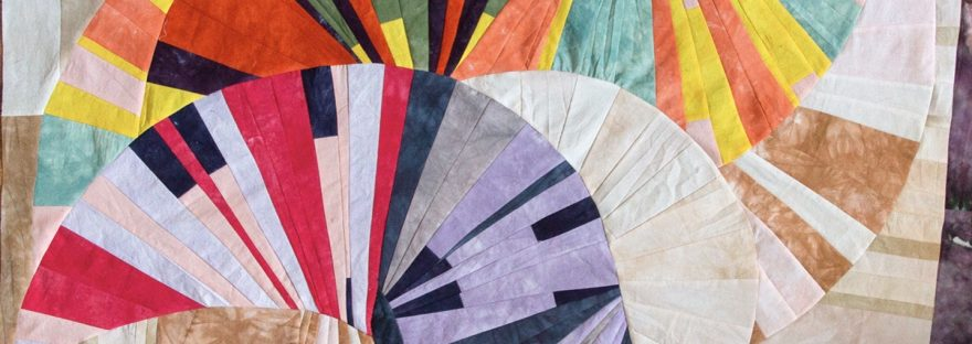 Virtual Improv Quilt class reviewed by top US quilting blog, Seams Like a Dream Quilt Designs