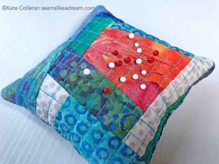 3 Handmade Mother's Day Gifts for Quilters featured by top US quilting blog, Seams Like a Dream Quilt Designs: pin cushions