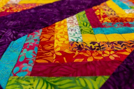 Tropical Terrace: aNew Braid Quilt Pattern